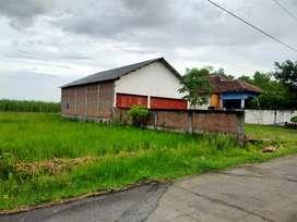 Jual Gudang Kabupaten Mojokerto dkt dgn pasar Kemlagi ± 1km