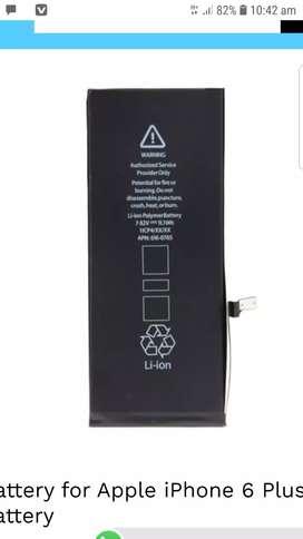 6 plus battery 6 month warranty