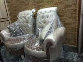 Luxury bedroom chair set