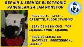 Service AC Bongkar Pasang Servis Mesin Cuci Kulkas Freezer Sidoarjo