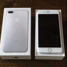 refurbished Iphone 7 Plus with phone are also new  Phone is left with