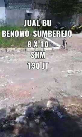 Dijual Tanah Benowo Sumberejo Surabaya Barat