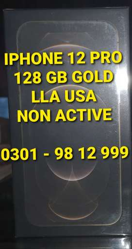 Iphone 12 Pro Gold 128 GB - LLA - Pin pack