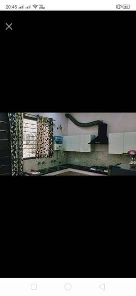2bhk fully furnished kothi in  golden enclave, lohgarh, zirakpur
