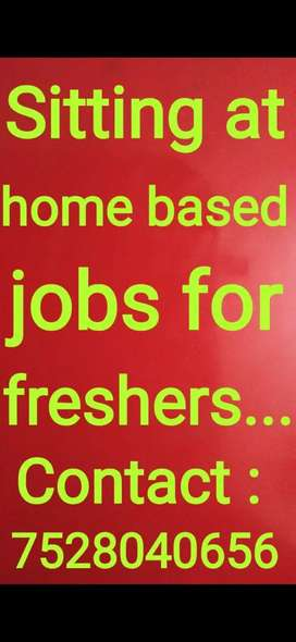 Part time jobs in data entry online work...