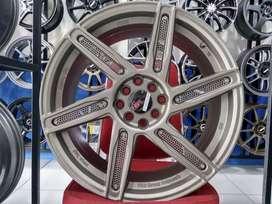 Velg Mobil Familia Lantis Accord VTI Ring 18 HSR Wheel ADP H4X100-114,