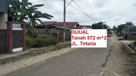 Tanah Pinggir Jalan Aspal untuk Bengkel motor Kota Bandar Lampung