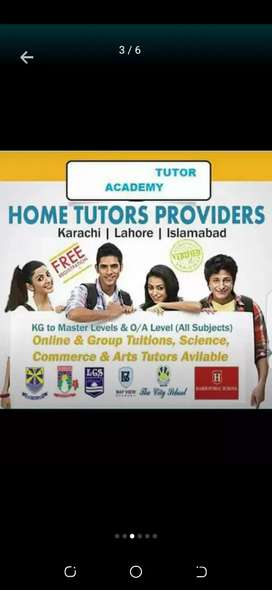 Lady Home Tutors Required In Karachi