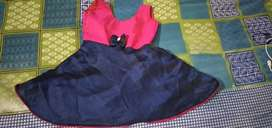 Kids frock for the age of .6 to 4 years