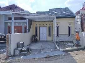 Perumahan dalam kampung batursari 2 jalan cor beton murah