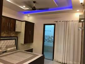 Fully furnished flat 3bhk spacious flat in Zirakpur