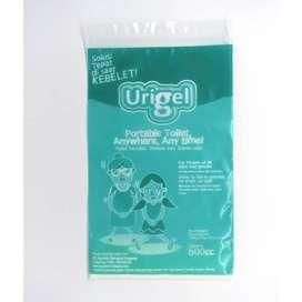 Kantong Urin Urigel Merubah Urin Jadi Gel / Kantong Pipis Portable PCS