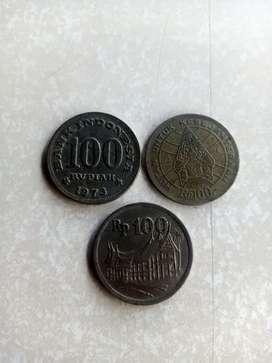 Di jual koin besi th 71,73,78 bahan besi   koin memiliki sejarah loh