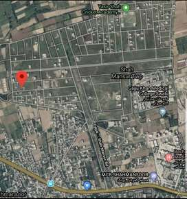 1 kanal plot for sale in Shahmansur Township Swabi