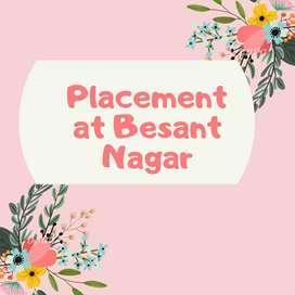 Job at Besant nagar (5 pm to 9pm)