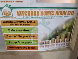 Kitchgro homes nidhi ltd sales jobs MALE& FEMALE  REQUIRED