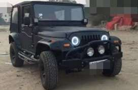 Mahindra modified classic jeep