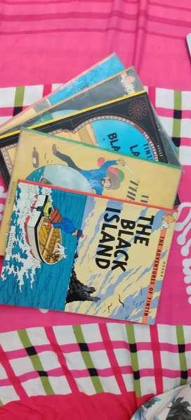 5 books of Tintin