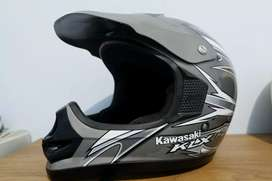 Helm KLX 150 kawasaki cross trail model cakil