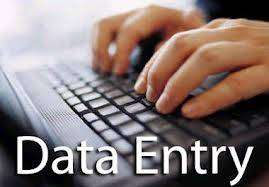 We Need Data entry Operator