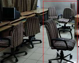 Computer Chairs with Soft Arm Rest and Hydraulic Height Adjustment