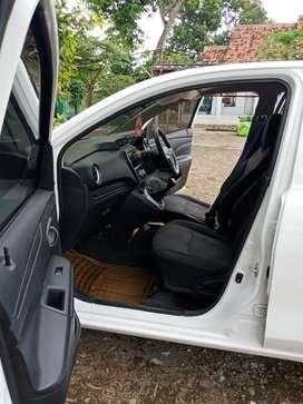 Terawat msh mulus Datsun go+ 2018 akhir 2baris bs DP 20jt bs TT
