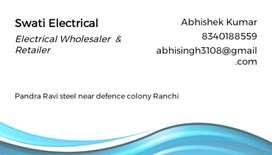 Urgent requirement Electrical mistri