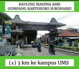 Kavling Gumpang Kartasura, kavling SHM