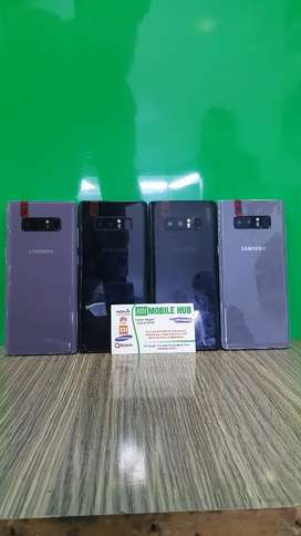 Note 8 6gb 64gb or 256 gb or doted avail mobile hub