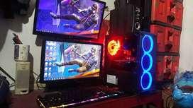 Komputer Gaming Haswell Fulset Monitor