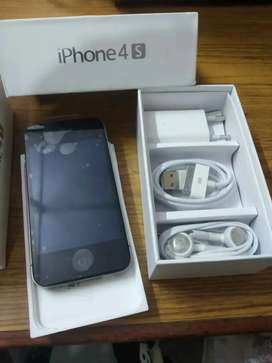 Apple iPhone 4s box pack accessories