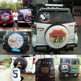 Cover/Sarung Ban Serep Mobil CRV/Touring DLL rush terios vitara#Naruto
