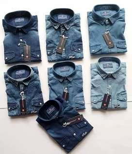 Bangladesh shirts cotton stock lot