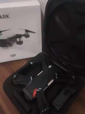 drone spark + remote plus baterai bonus satu