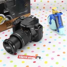 Nikon D3400 lensa kit Unit D (Kode D064)