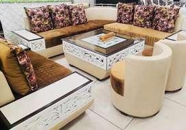 New 10 seater sofa set