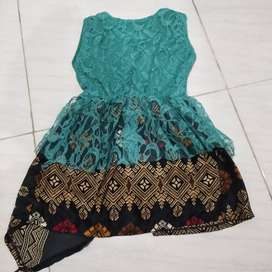 Dress anak kombinasi