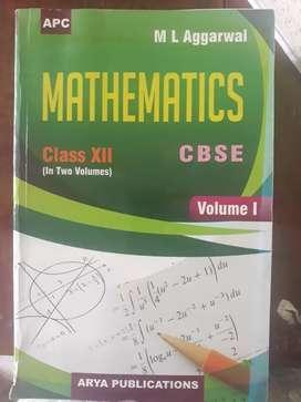 Mathematics Guide class 12 cbse -M L Aggarwal