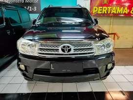 Toyota Fortuner G dsl at matic Tahun 2010 terawat dan bisa kredit