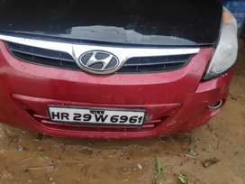 Hyundai i20 Asta 2010 Model B Red. With Rc CNG and Petrol 2010 Model