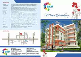 Flat for sale at boduppal