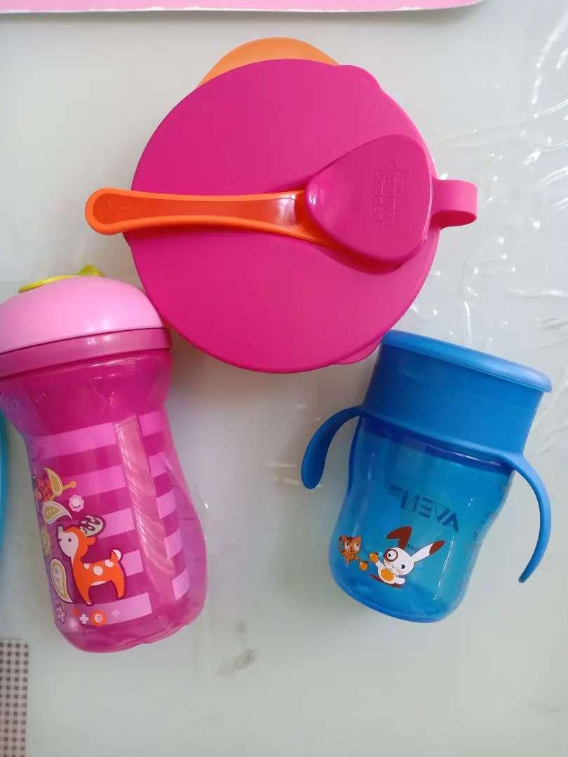 Preloved Training Cup, Botol, dan tempat makan Bayi/Anak