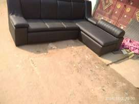 New l sape sofa