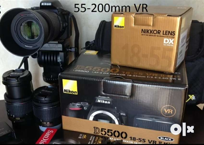 Nikon D5500 55+200mm with 6000 worth acces 0