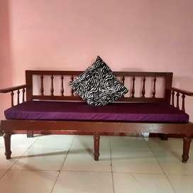 Wooden 3seater sofaa