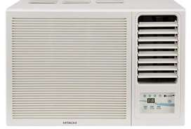Hitachi 1T window AC used only for 6mnths 2018 model
