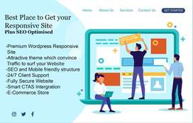 Design Professional Site for Jute Rs. 999