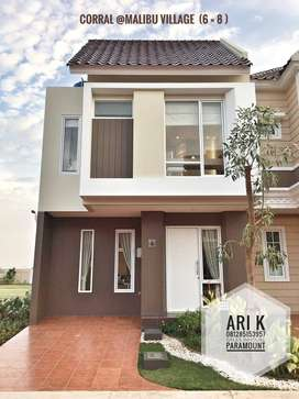 Zuma at malibu rumah milenial affordable price 998jt free full furnish