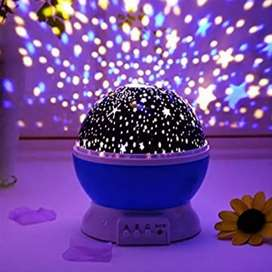 Star Lamp LED Night Light Projector