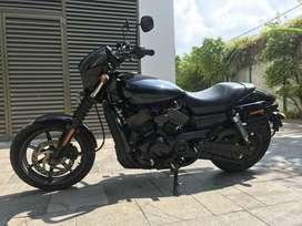 Harley Davidson HD Street 750 2015 Model Vivid Black